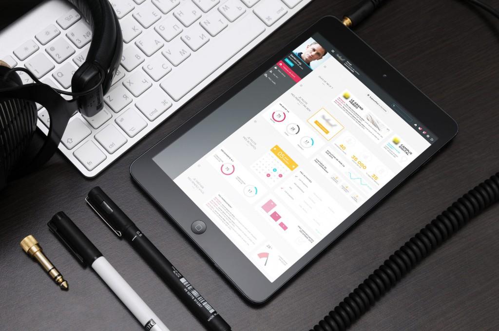 Webdesigner bordeaux : ergonomie dashboard portail commercial