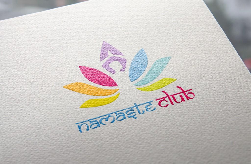 Création logo Namaste Club