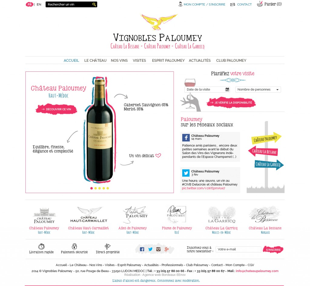 Webdesigner Webmaster Bordeaux