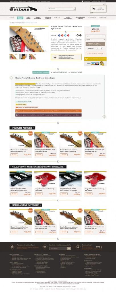 Webdesigner site ecommerce