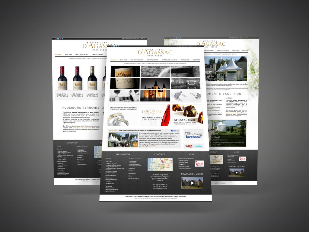 Création webdesign site internet, graphiste Bordeaux