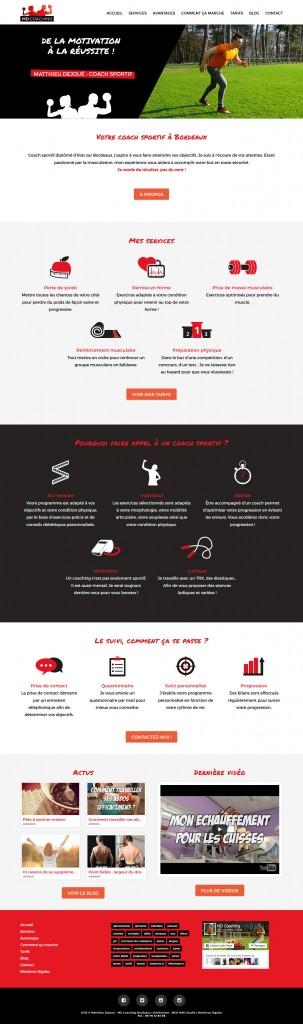 Création site Wordpress à Bordeaux