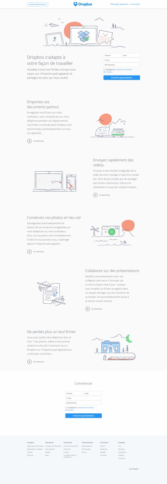 tendances webdesign 2017 scroll onepage